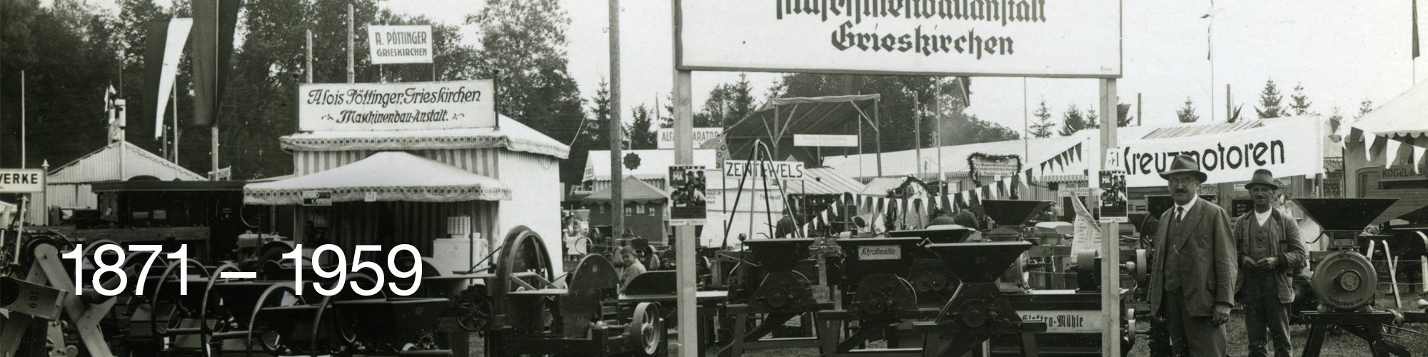 150 години Поьтингер