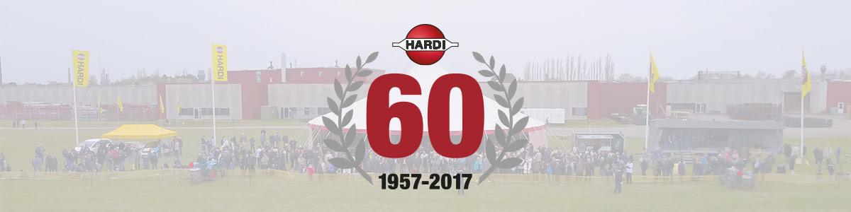 пръскачки Харди 60-годишен юбилей